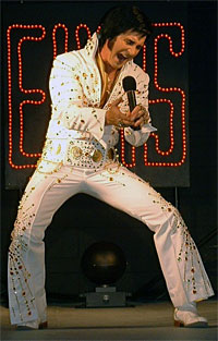 Art Kistler -- Forever Elvis . . . the Spirt LIVES!